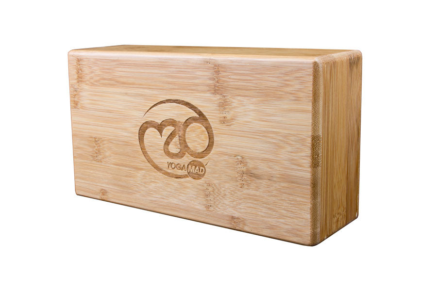 Hollow Bamboo Yoga Brick - Divine Yoga Shop