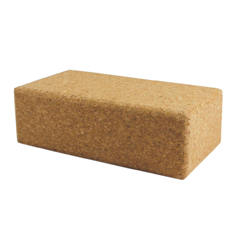 Cork Yoga Brick - Divine Yoga Shop