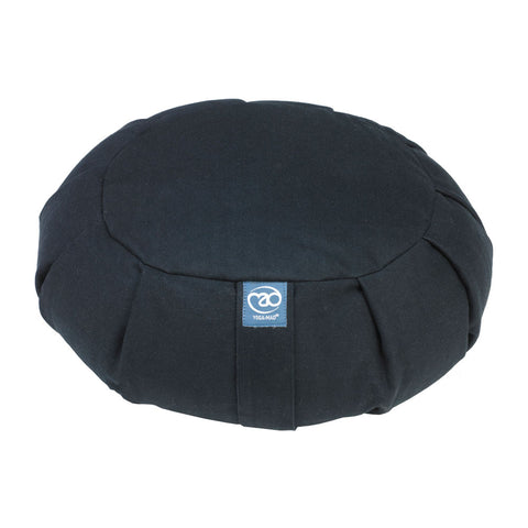 Pleated Round Zafu Meditation Cushion - Divine Yoga Shop