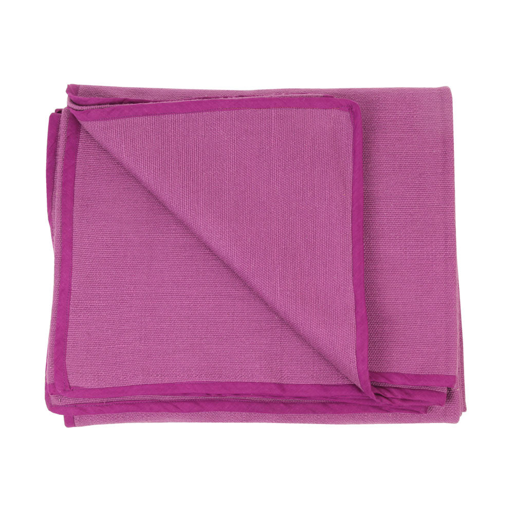 Hand Woven Cotton Yoga Blanket - Divine Yoga Shop