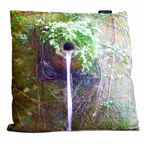 Art Cushion cover- Forest Water - Divine Yoga Shop