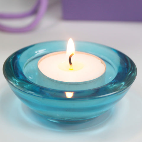 Glass Votive Candle Holder - Divine Yoga Shop