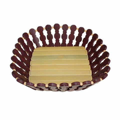 Bamboo Square Basket - Divine Yoga Shop