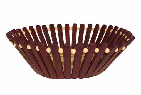 Simple Bamboo Basket - Divine Yoga Shop