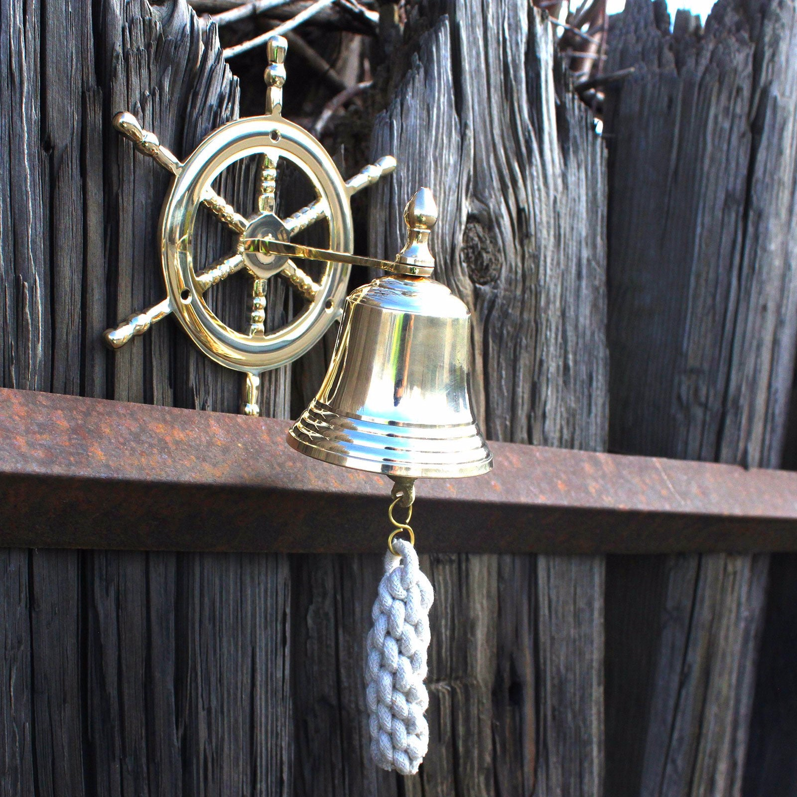 Vintage brass bells- Wheel - Divine Yoga Shop