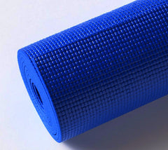 STICKY YOGA MATS ANTI SKID & SHOCK ABSORBING (Blue) - Divine Yoga Shop