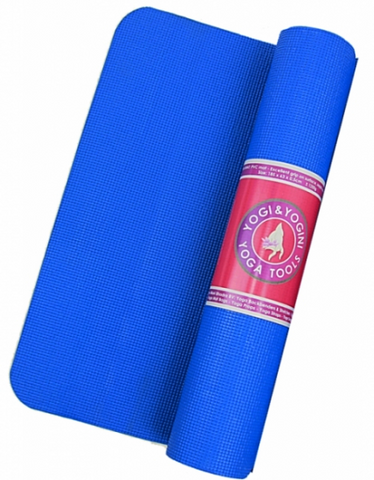 Premium STICKY YOGA MATS (Blue) - Divine Yoga Shop