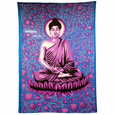 Wall Art- Buddha Bedspread - Divine Yoga Shop