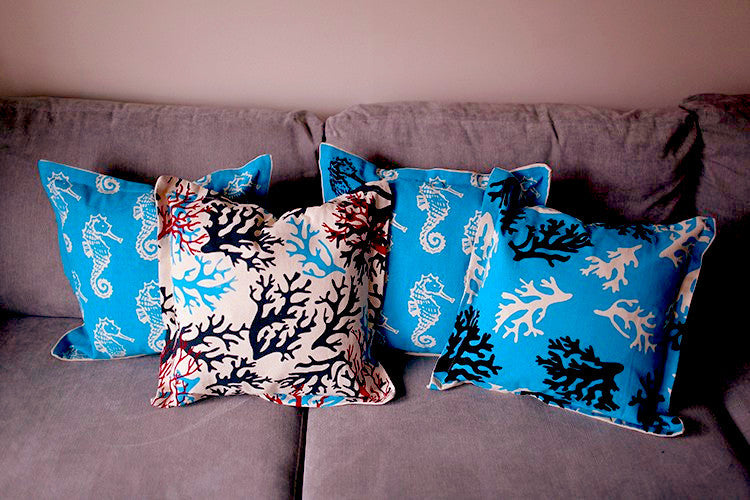 Sea Life Cushion Covers - Divine Yoga Shop