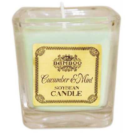 Soybean Candle- Cucumber & Mint - Divine Yoga Shop