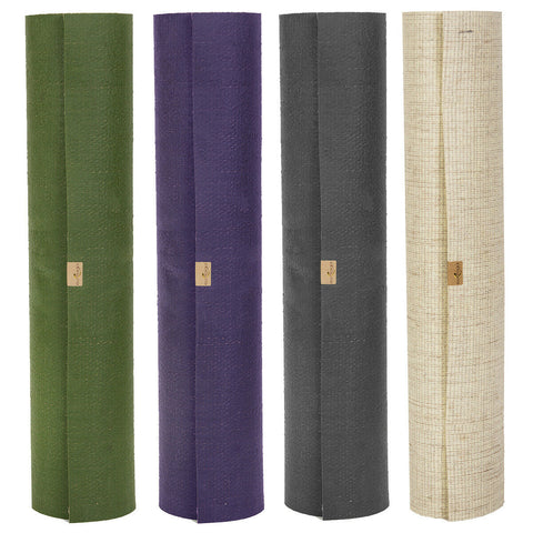 ECO-FRIENDLY YOGA MATS- MADE OF JUTE (Violet)