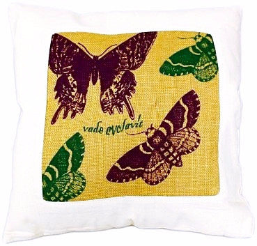 Butterfly Cushion Cover - Divine Yoga Shop