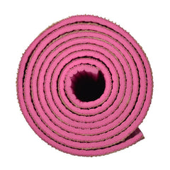 ECO YOGA MATS- MADE OF JUTE (Pink) - Divine Yoga Shop