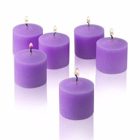 Votive Scented Candles- Lavender - Divine Yoga Shop