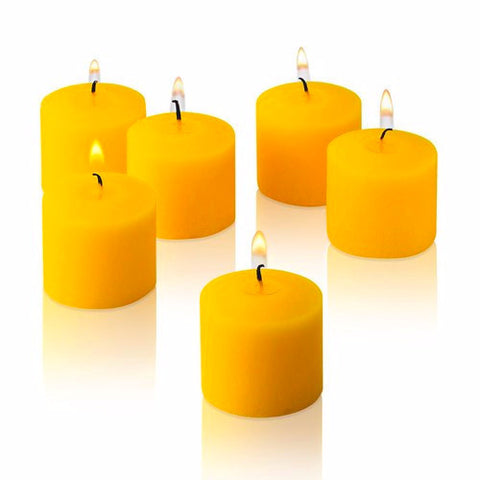 Votive Scented Candles- Lemon - Divine Yoga Shop