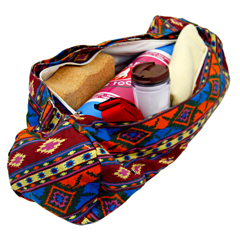 Yoga Mat Bag- Colorful - Divine Yoga Shop