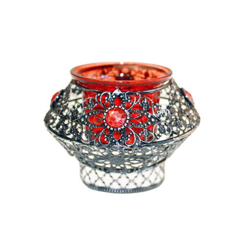 Red Romance- Candle Holder - Divine Yoga Shop