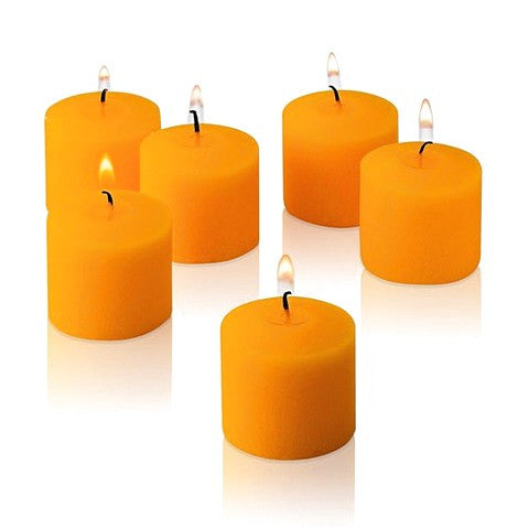 Votive Scented Candles- Orange - Divine Yoga Shop