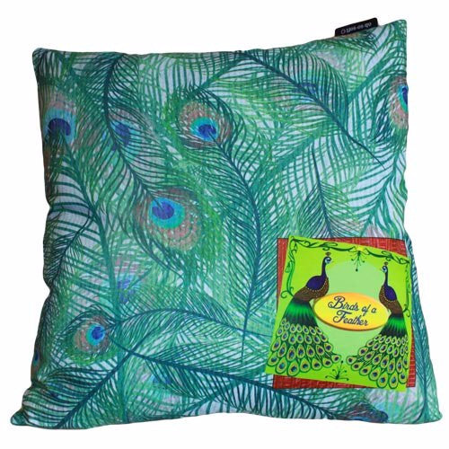 Exotic Peacock Cushion Cover - Divine Yoga Shop