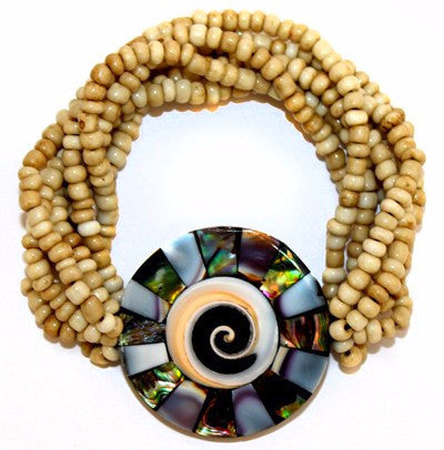 Embracing Shell Bracelet - Divine Yoga Shop