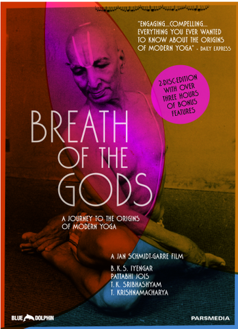 Breath of the Gods 2 Disc DVD - Divine Yoga Shop
