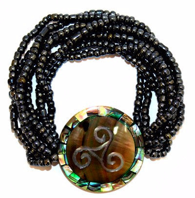 Entwined Shell Bracelet - Divine Yoga Shop