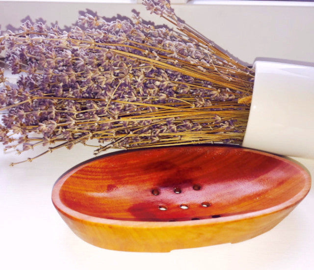 Mahogany Soap dish - Divine Yoga Shop
