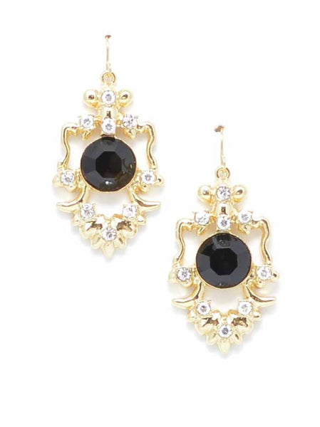 Regal Drop Earrings by ZENZII