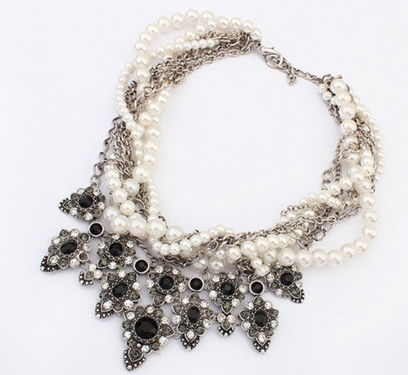 Carissa, Multi Layer Necklace