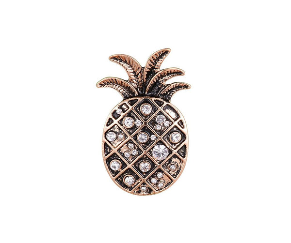 Pineapple Pinned Brooch