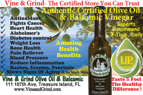 Extra Virgin Olive Oil and Balsamic Vinegar Health Benefits