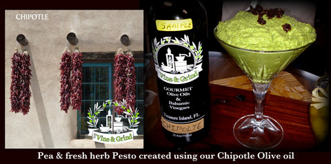 Vine and Grind Free tasting Olive Oil