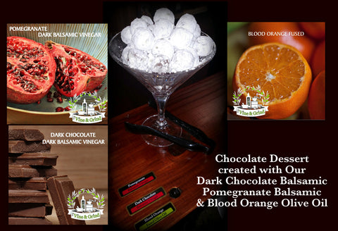Vine & Grind Free tasting Blood orange Pomegranate Chocolate
