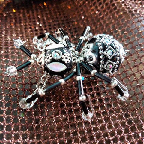 Limited Collection Black Lucky Jeweled Bug