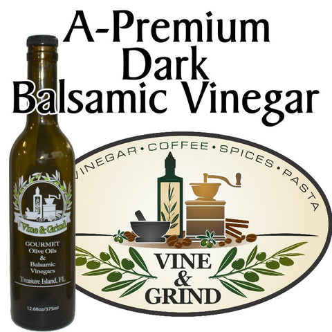 A Premium Dark Balsamic Vinergar