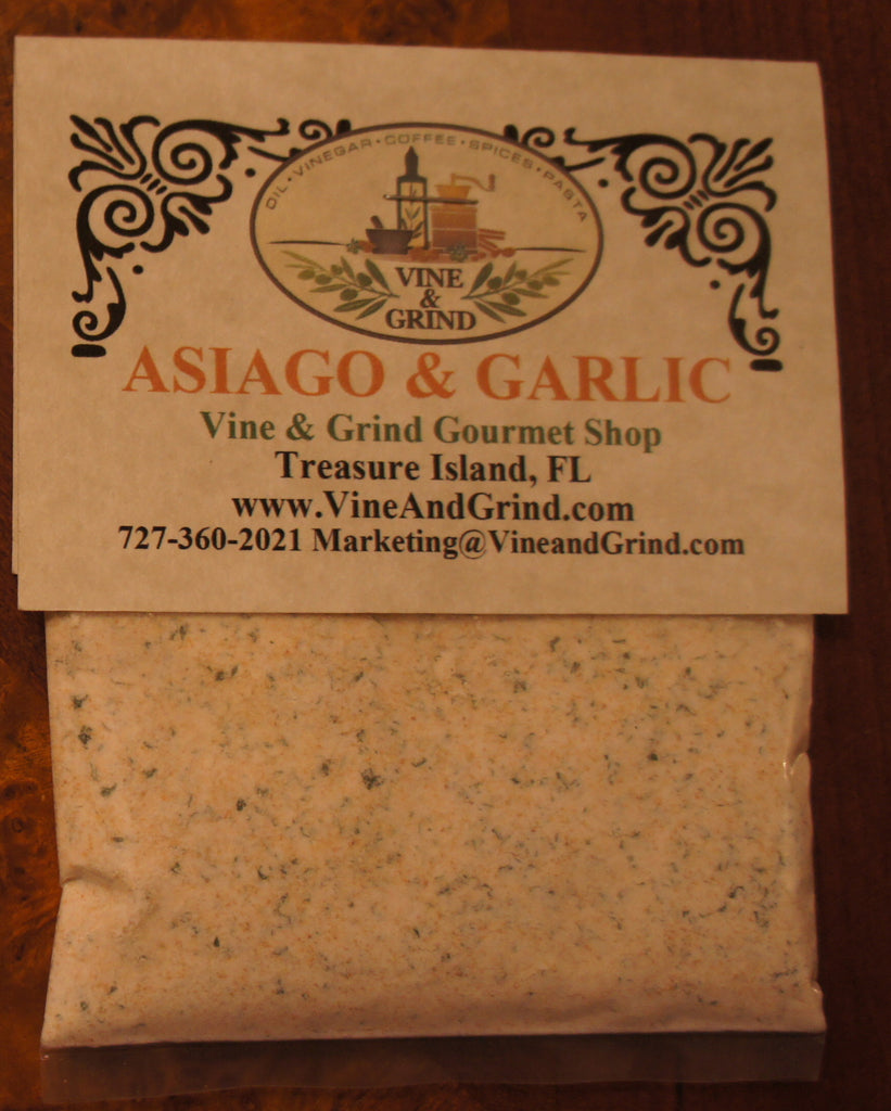 Great Asiago and Garlic