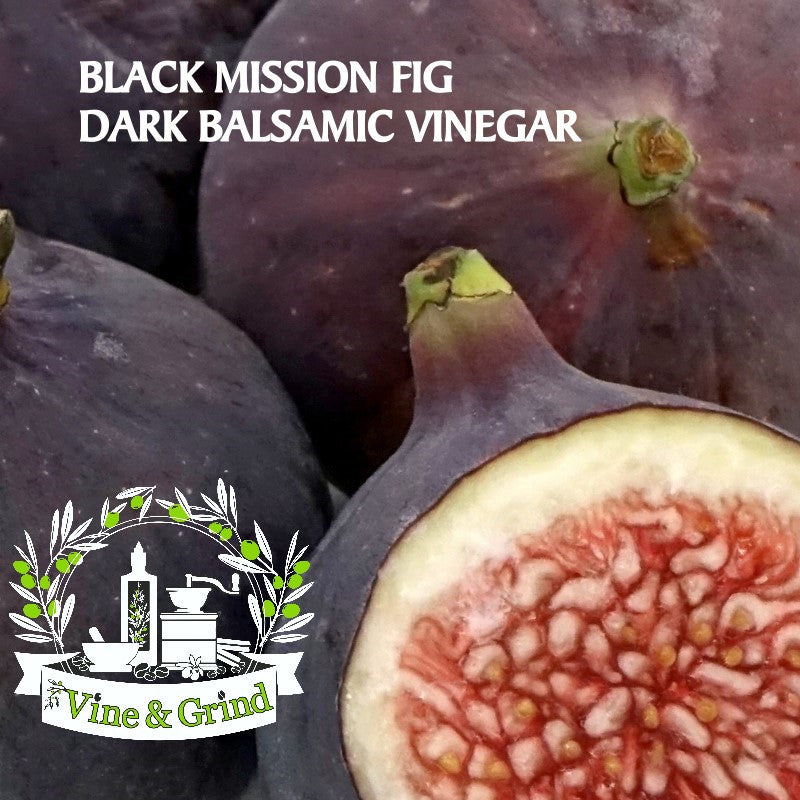 Black Mission Fig Balsamic Vinegar