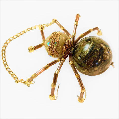 Limited Collection Golden Lucky Jeweled Bug