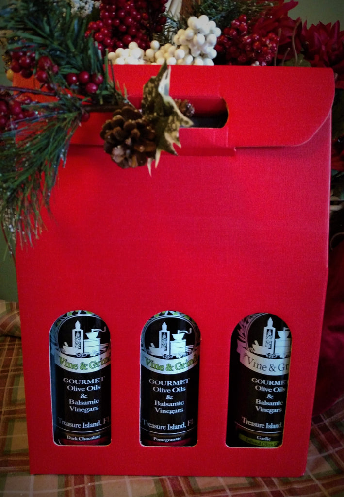 A Gift Package for 3 Bottles