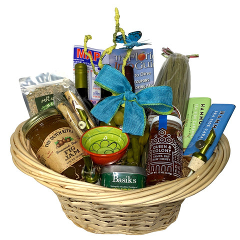A FLORIDA WELCOME BASKET
