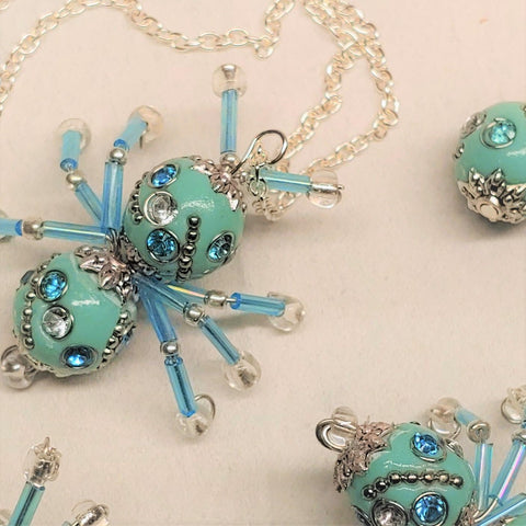 Limited Collection Set Lucky Jeweled Bug- Turquoise