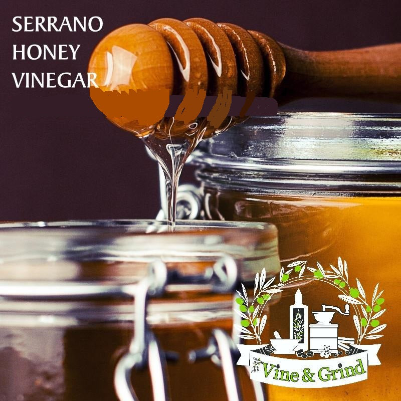 Serrano Honey Vinegar Balsamic Vinegar