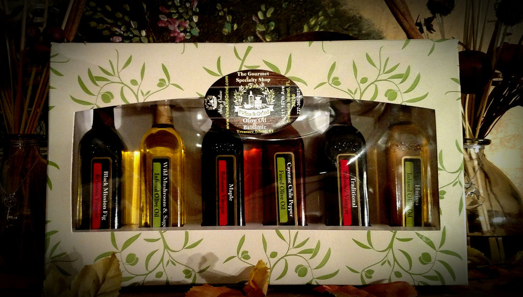 A Tuscany Sample Oil and Balsamic Gift Pack