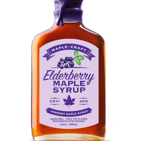 organic elderberry maple syrup at Vine and Grind in treasure Island, FL