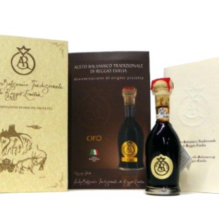 ACETUM BALSAMIC TRAD. EXTRA VECCHIO 25 YEAR (GOLD)