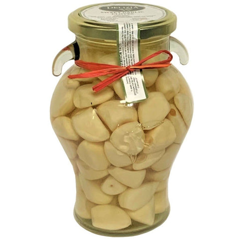 Sweet Pickled Garlic