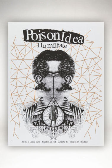 Brookesia Studio Screenprint - Poison Idea - 50x65 cm