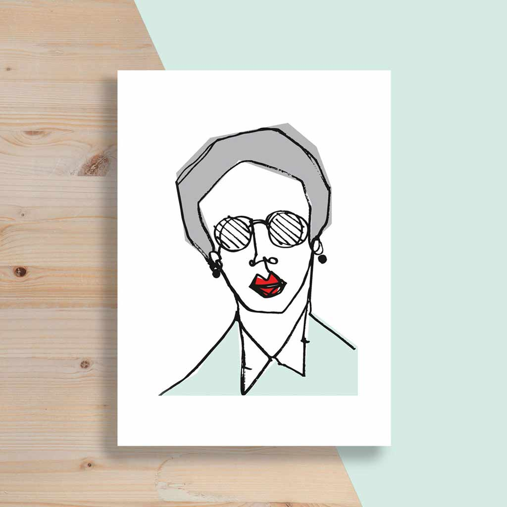 Just Jules - Screenprint - Granny
