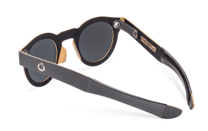 Papp Up Sunglasses - Poet Vintage Black