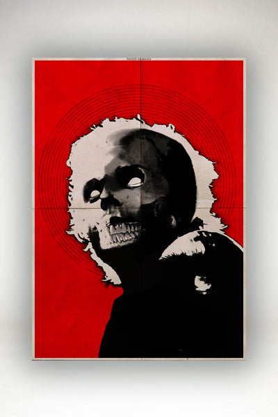 Noise Armada - Santo Rostro Poster Red